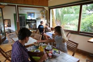 petit déjeuner hotel Tamaris